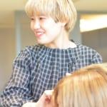 【CLEAR of hair(クリアーオブヘアー)本山店】ショートバングが得意な美容師の山内真帆さん